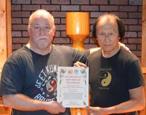 Sifu Leo T. Fong & Sifu Lamar M. Davis II